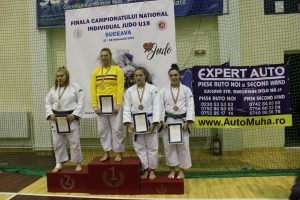 Bianca Suciu – bronz la Finala CN Judo, Juniori II (U 18) de la Suceava