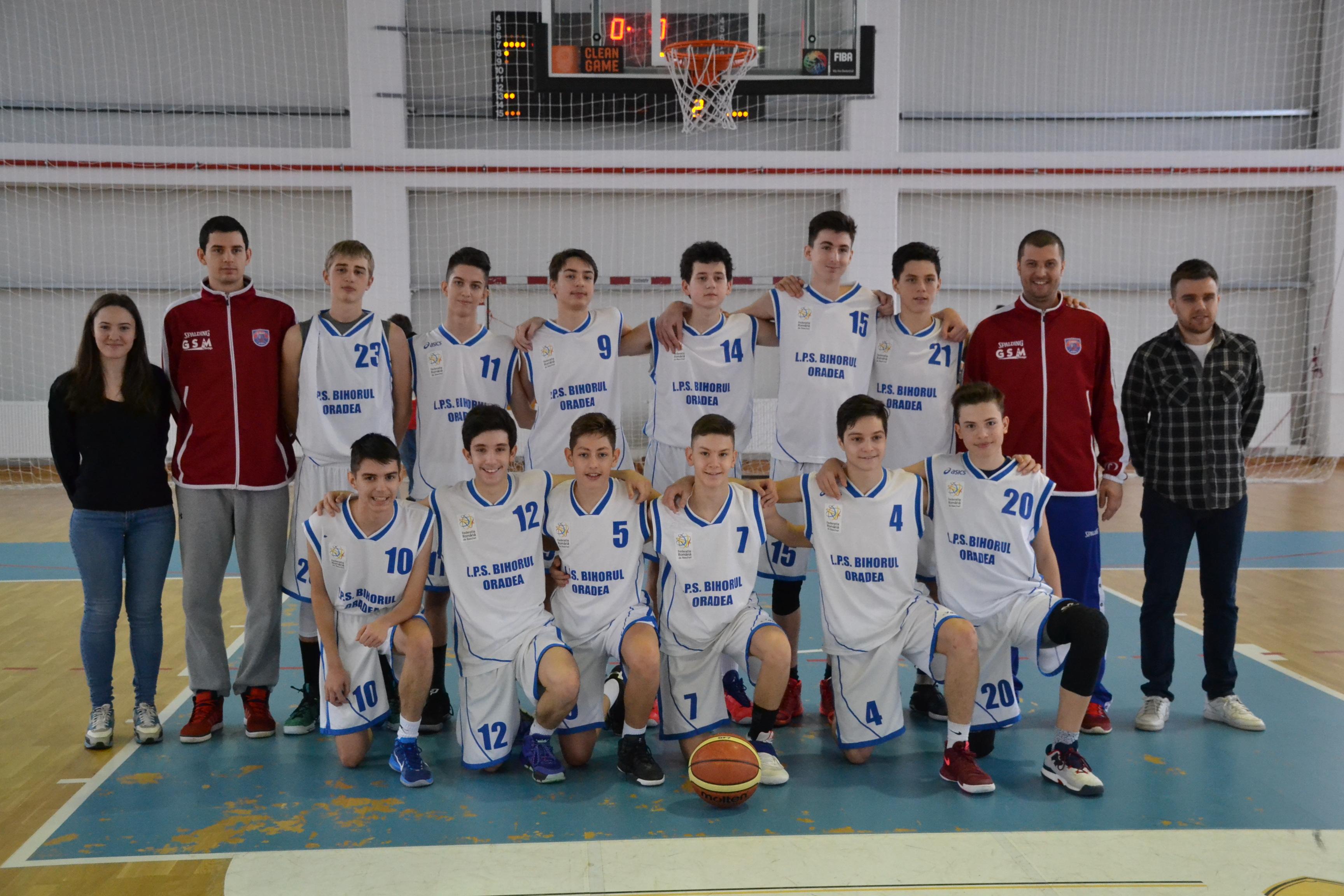 LPS BIHORUL  a reusit a 2 a victorie in faza semifinala a campionatului national U16
