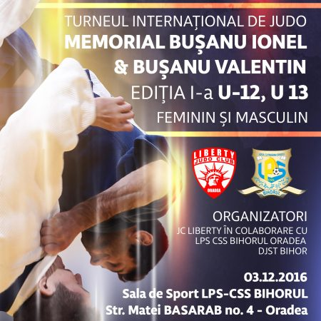 Turneul International de JUDO, Memorial BUȘANU IONEL & BUȘANU VALENTIN