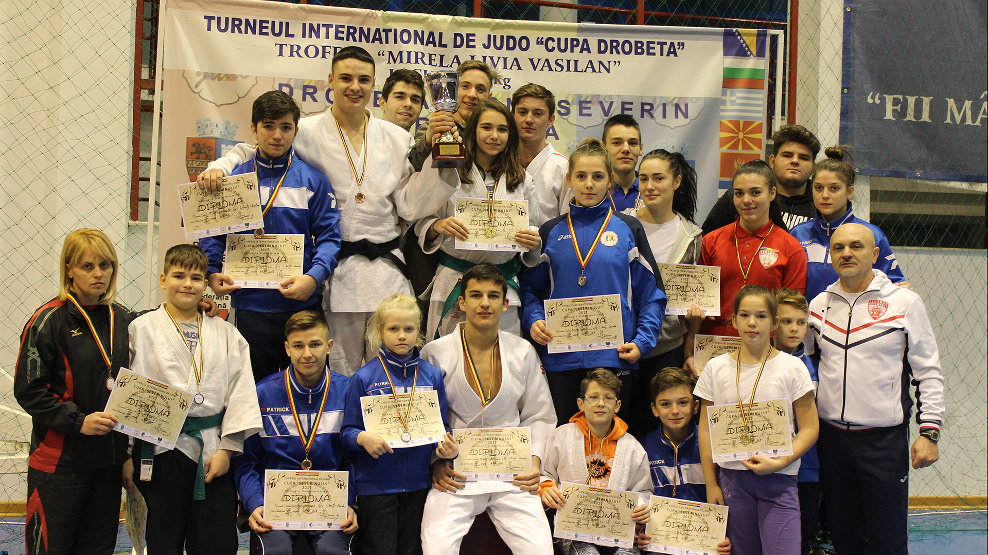 Turneu International de Judo – Cupa Severinului 2017, Ed. a VI-a, 27-29 ian, Dr. Tr. Severin