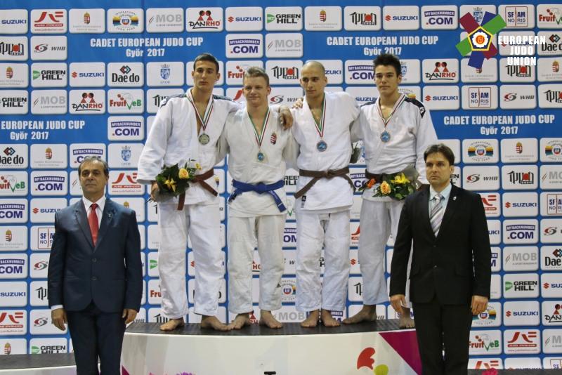 Alex George Cret (LPS Liberty Oradea), medalie de bronz la Gyor